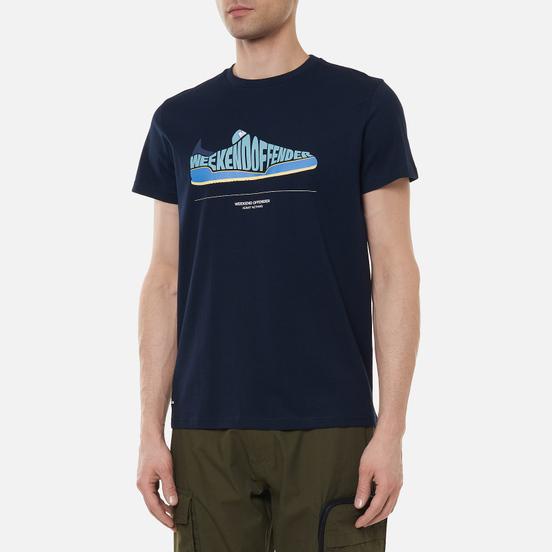 Мужская футболка Weekend Offender Jeans Navy