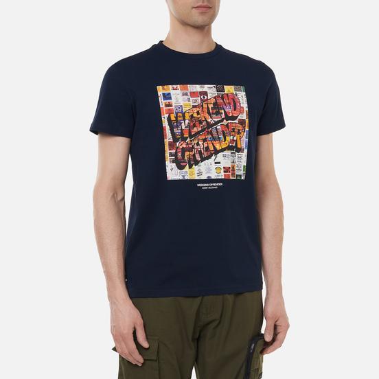 Мужская футболка Weekend Offender Thrills Navy