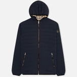 Мужской пуховик Aquascutum Paine Down Filled Puffa Navy фото- 0