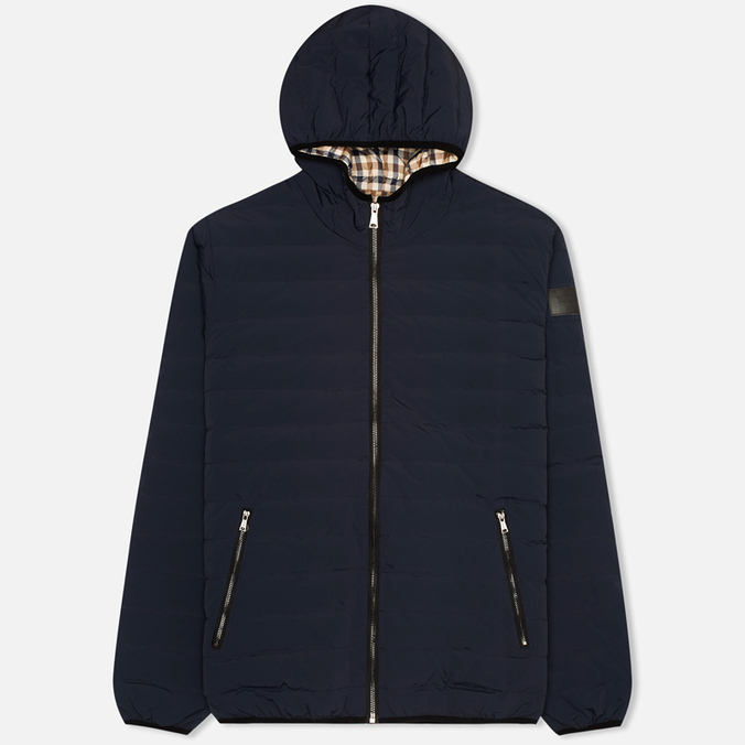 Мужской пуховик Aquascutum Paine Down Filled Puffa Navy