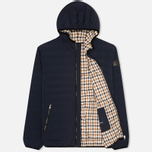 Мужской пуховик Aquascutum Paine Down Filled Puffa Navy фото- 1