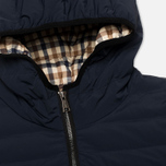 Мужской пуховик Aquascutum Paine Down Filled Puffa Navy фото- 3