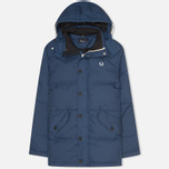 Мужской пуховик Fred Perry Down Field Service Blue фото- 0