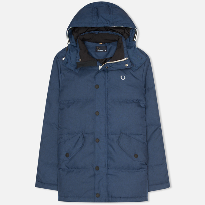 Мужской пуховик Fred Perry Down Field Service Blue