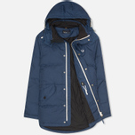Мужской пуховик Fred Perry Down Field Service Blue фото- 1
