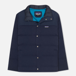 Мужской пуховик Patagonia Bivy Down Navy Blue фото- 0