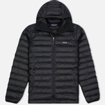 Мужской пуховик Patagonia Down Sweater Hoody Black фото- 0