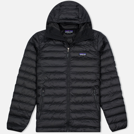 Patagonia Down Sweater Hoody Men's Padded Jacket Black