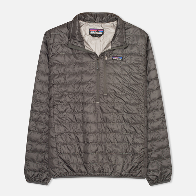 Мужской пуховик Patagonia Nano Puff Forge Grey/Feather Grey