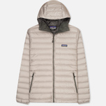 Мужской пуховик Patagonia Down Sweater Hoody Feather Grey/Forge Grey фото- 0