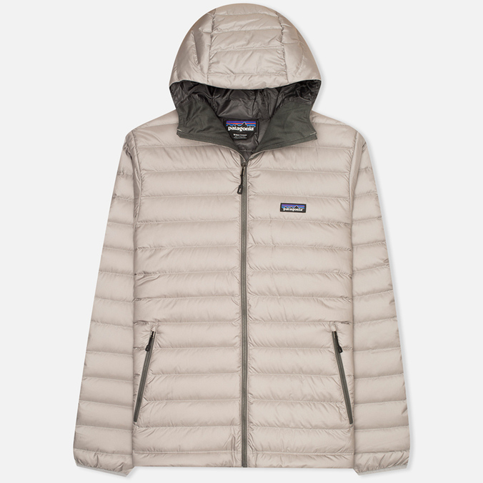 Patagonia Sweater Hoody Men's Padded Jacket Feather Grey/Forge Grey