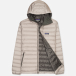Мужской пуховик Patagonia Down Sweater Hoody Feather Grey/Forge Grey фото- 1