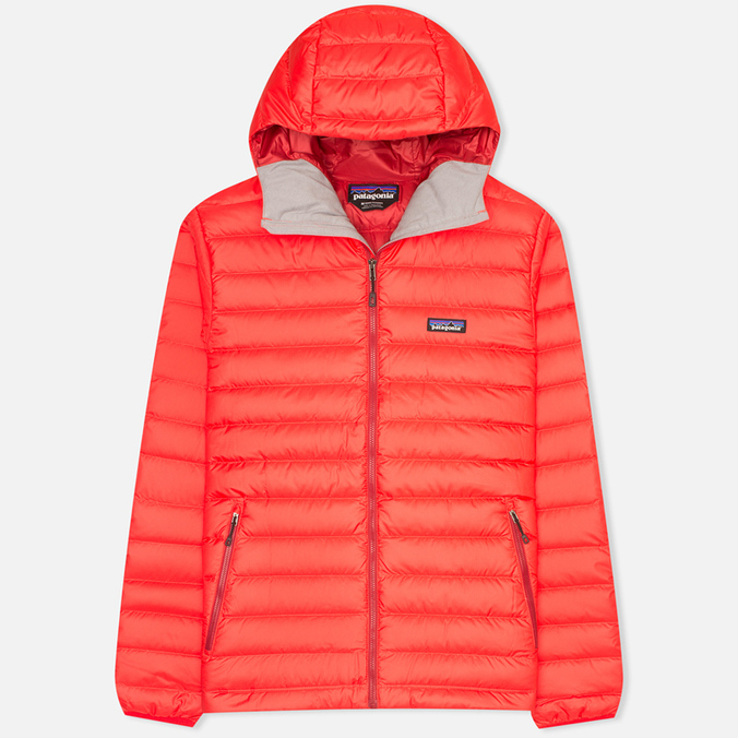 Мужской пуховик Patagonia Down Sweater Hoody French Red