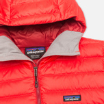 Patagonia Sweater Hoody Men's Padded Jacket French Red photo- 2