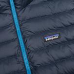 Мужской пуховик Patagonia Down Sweater Hoody Navy Blue фото- 4