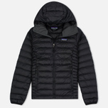Женский пуховик Patagonia Down Sweater Hoody Black фото- 0