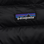 Женский пуховик Patagonia Down Sweater Hoody Black фото- 6