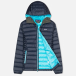Patagonia Down Sweater Hoody Women's Padded Jacket Navy Blue photo- 1