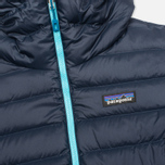Patagonia Down Sweater Hoody Women's Padded Jacket Navy Blue photo- 4