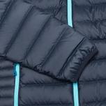 Женский пуховик Patagonia Down Sweater Hoody Navy Blue фото- 5