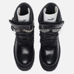 Женские ботинки Puma x Rihanna Fenty Sneaker Boot Wedge Black фото- 5