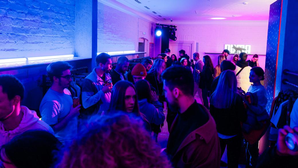 PUMA x Maison Kitsune: вечеринка в BRANDSHOP