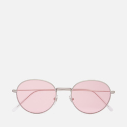 Солнцезащитные очки RETROSUPERFUTURE Wire Silver/Pink