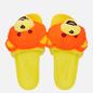 Сланцы adidas Originals x Jeremy Scott Adilette JS Bear Solar Orange/Yellow/Core Black фото - 1