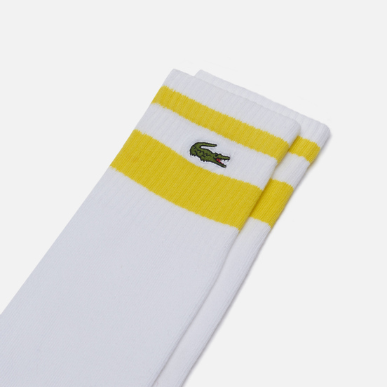 Носки Lacoste Sport Tennis Long White/Pineapple/Armour
