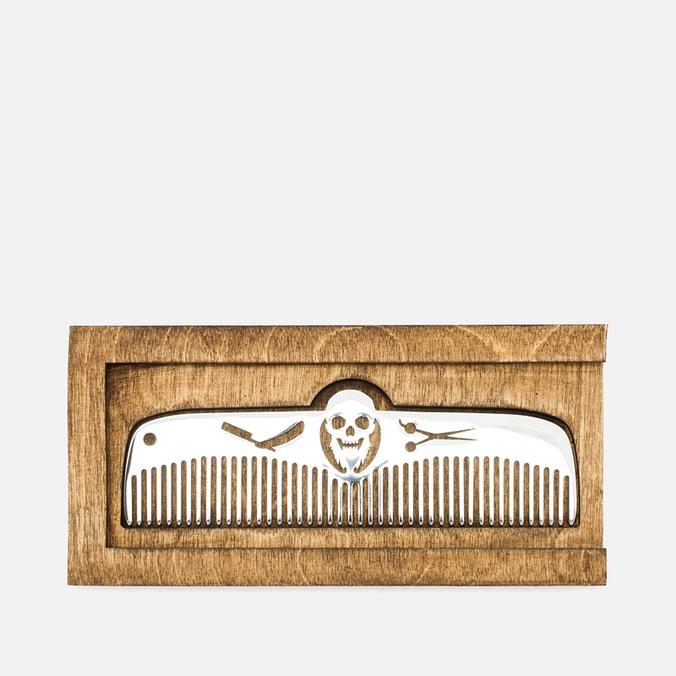 Расческа 3HCD Bearded Skull Razor/Scissors