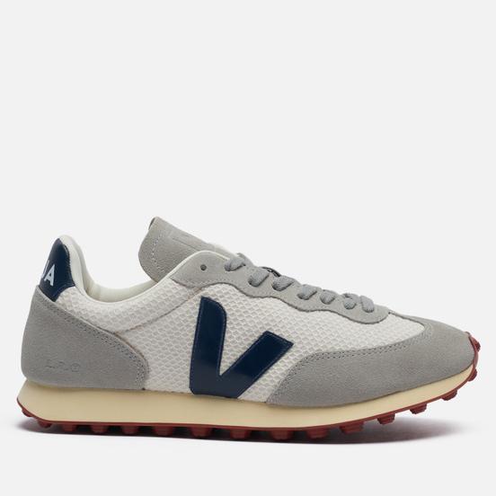 Мужские кроссовки VEJA Rio Branco Hexamesh Gravel/Nautico/Oxford Grey