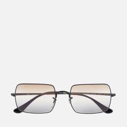 Солнцезащитные очки Ray-Ban Rectangle 1969 Bi-Gradient Polished Black/Clear Brown/Grey