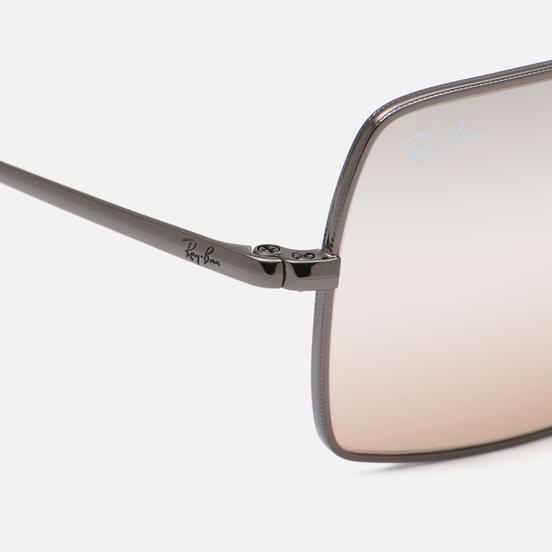 Солнцезащитные очки Ray-Ban Rectangle 1969 Bi-Gradient Polished Gunmetal/Pink/Grey