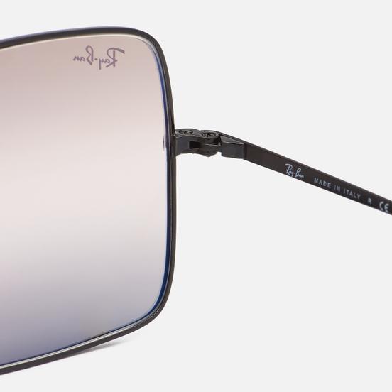 Солнцезащитные очки Ray-Ban Square 1971 Bi-Gradient Polished Black/Pink/Brown