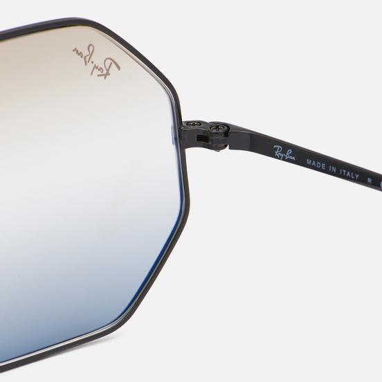 Солнцезащитные очки Ray-Ban Octagon 1972 Bi-Gradient Polished Black/Clear Brown/Grey
