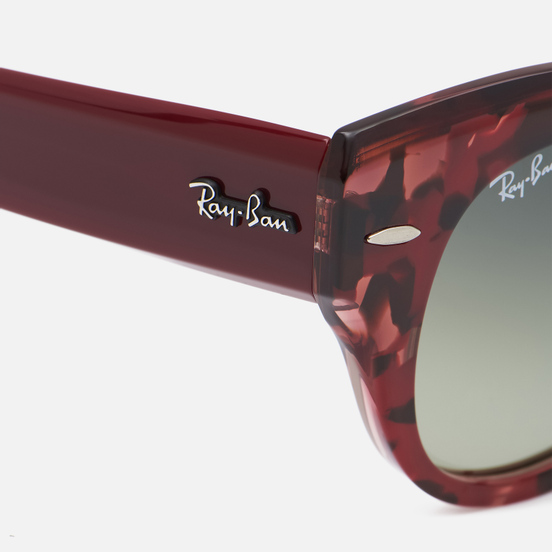 Солнцезащитные очки Ray-Ban Roundabout Polished Tortoise/Green/Blue