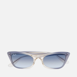 Солнцезащитные очки Ray-Ban Lady Burbank Transparent Blue/Blue Gredien Grey