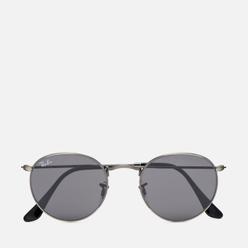 Солнцезащитные очки Ray-Ban Round Metal Antique Genmetal/Dark Grey