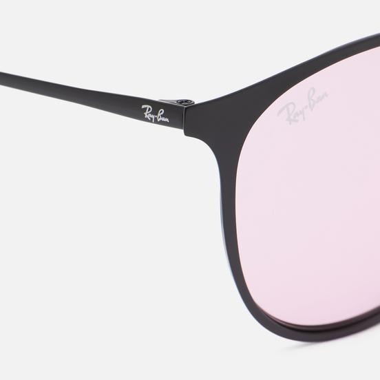 Солнцезащитные очки Ray-Ban Erika Metal Evolve Black/Evolve Photo Pink To Blue