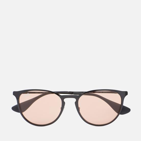Солнцезащитные очки Ray-Ban Erika Metal Evolve Polished Black/Brown