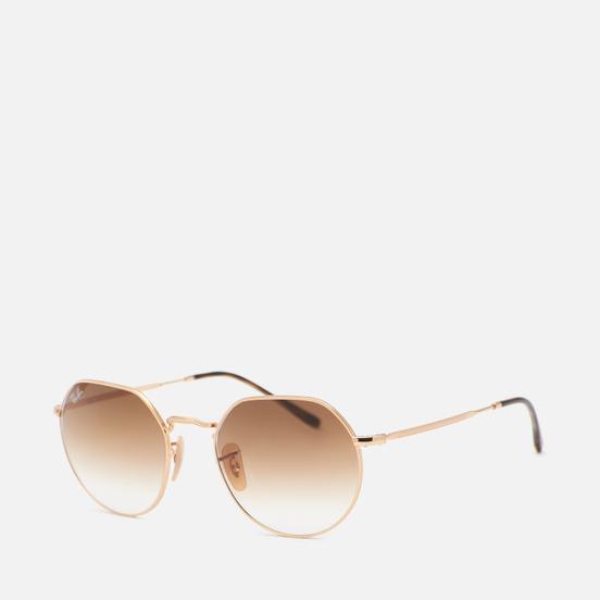 Солнцезащитные очки Ray-Ban Jack Polished Gold/Light Brown