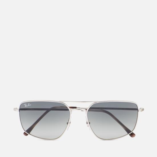 Солнцезащитные очки Ray-Ban RB3666 Polished Silver/Grey
