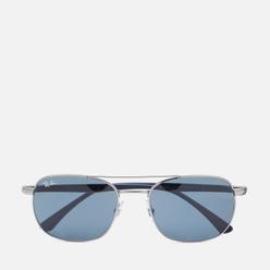 Солнцезащитные очки Ray-Ban RB3670 Polished Gunmetal/Blue/Grey