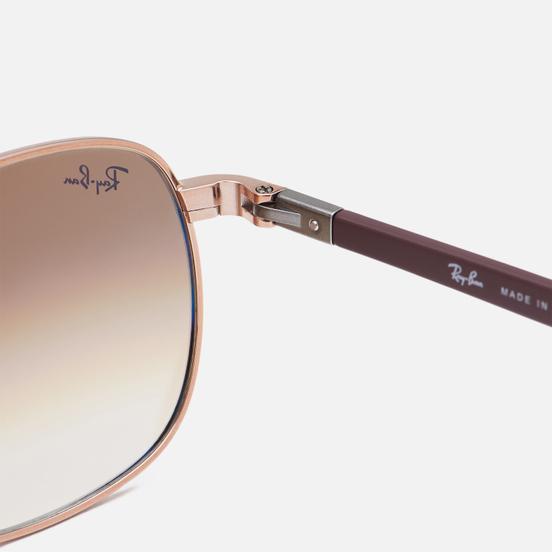 Солнцезащитные очки Ray-Ban RB3670 Polished Copper/Light Brown
