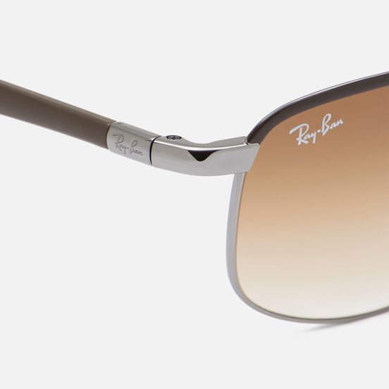 Солнцезащитные очки Ray-Ban RB3671 Polished Brown/Light Brown