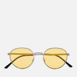 Солнцезащитные очки Ray-Ban RB3681 Gunmetal/Evolve Photo Yellow To Green