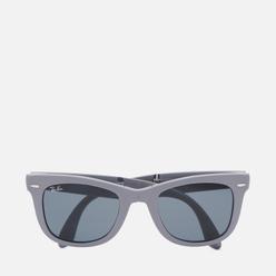 Солнцезащитные очки Ray-Ban Wayfarer Folding Grey/Blue