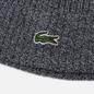 Шапка Lacoste Ribbed Wool Grey Chine фото - 1