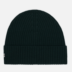 Шапка Lacoste Ribbed Wool Green