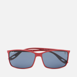 Солнцезащитные очки Ray-Ban x Scuderia Ferrari RB4179M Matte Red/Grey